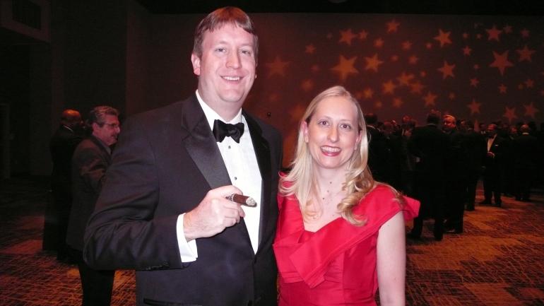 Dirk and Lori at Puttin' on the Ritz