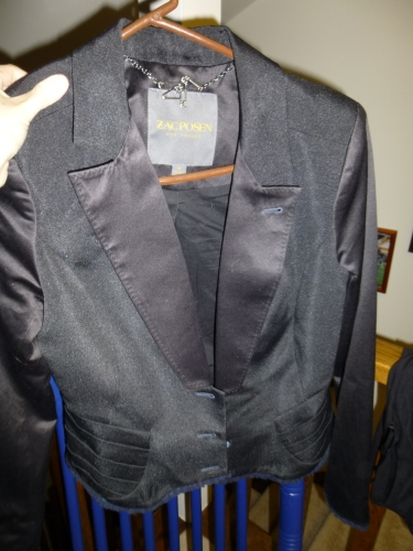 Zac Posen for Target tuxedo jacket