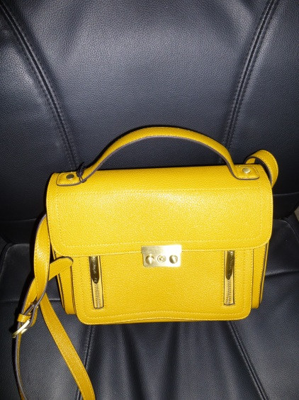 Phillip Lim for Target yellow bag