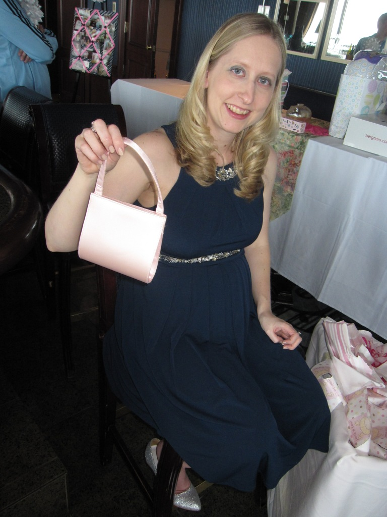 Baby's first handbag